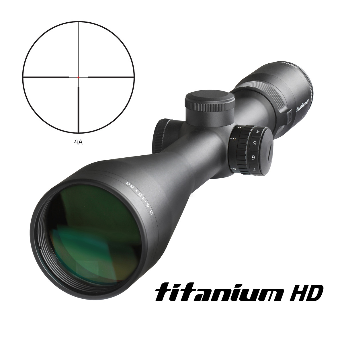 Delta Optical Titanium 2,5-15x56 IR HD (4A) SF